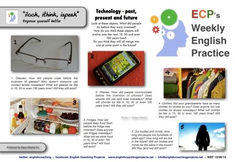WEP 130613 iLook iThink iSpeak